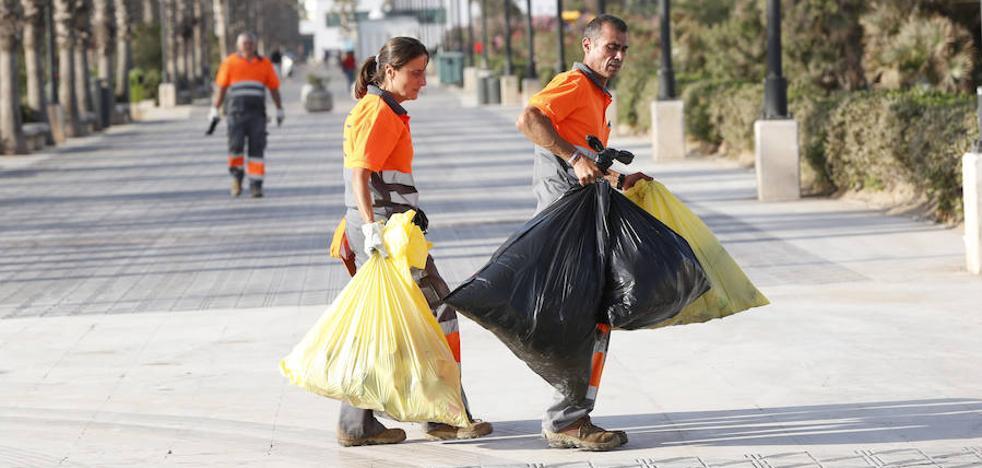Más basura y menos cenizas en San Juan