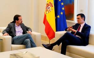 Pablo Iglesias recuerda a Pedro Sánchez el pacto del Botánico para reclamar «respeto al aliado»