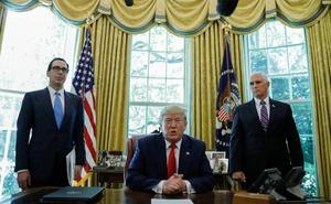 Trump mezcla las llamadas al diálogo con las sanciones al Líder Supremo iraní