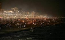 La noche de San Juan más multitudinaria marca el inicio de una excelente temporada turística