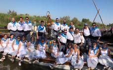 La celebración de Sant Pere en Catarroja revive la tradición de los pescadores