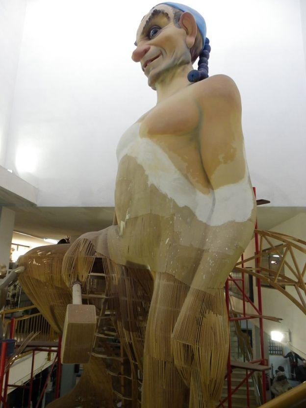 El museo fallero del gremio cierra por reformas