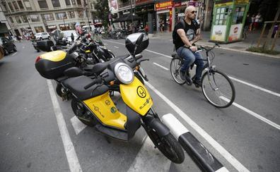 Un estudio municipal prevé autorizar 12.460 vehículos de alquiler en las calles de Valencia