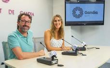 Ropa deportiva con la marca Gandia para atraer turismo