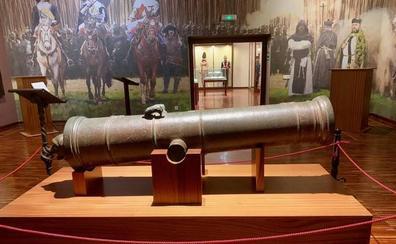 El último cañón de la Generalitat Valenciana vuelve a casa más de tres siglos después de su fundición