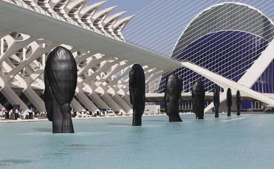 Visita las nuevas esculturas de Plensa en la Ciudad de las Artes y las Ciencias de Valencia