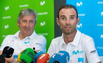 Alejandro Valverde seguirá con Movistar hasta 2021