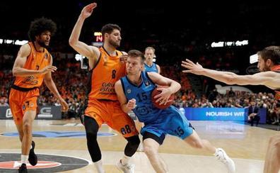 El Valencia Basket no renueva a Antoine Diot