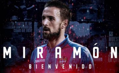 Miramón firma por dos temporadas con el Levante UD