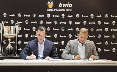 Bwin firma tres temporadas como patrocinador principal y pagará 15 millones