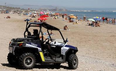 Reabiertas al baño las playas de la Patacona y Port Saplaya de Alboraya
