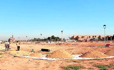 La urbanización del parque Benamá concluirá este mes de julio