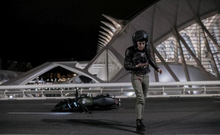 Las primeras imágenes de la serie 'Perdida', rodada en varios puntos de Valencia