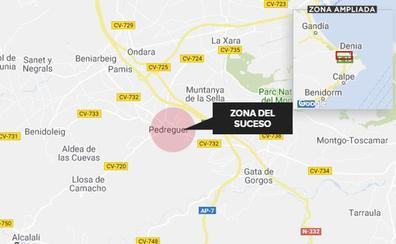 El detenido por agredir a tres vecinos y dos policías de Pedreguer fue reducido a tiros