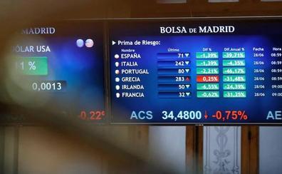 Las Bolsas europeas suben mientras los intereses de los bonos marcan nuevos mínimos