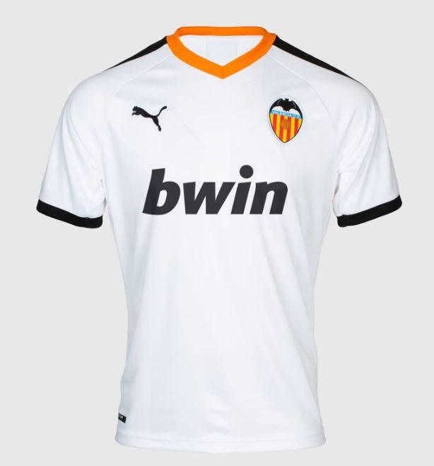 Así es la camiseta oficial del Valencia de la temporada 2019-2020