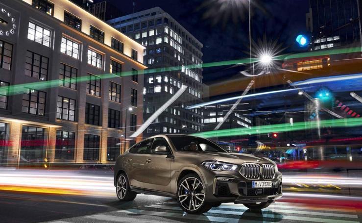 BMW X6, la exclusiva tercera generación en imágenes