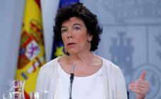 Celaá niega que la abstención de ERC a la investidura implique depender de los secesionistas