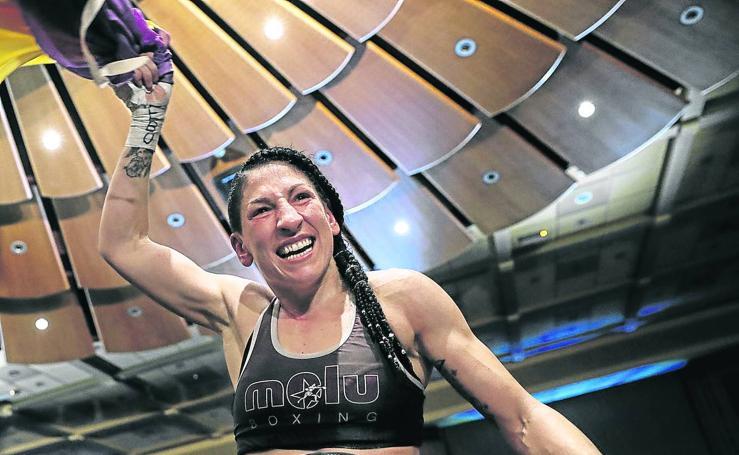 Miriam Rodríguez, campeona de Europa de peso ligero