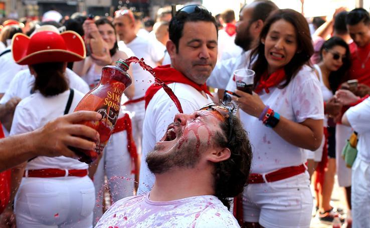 Pamplona ya celebra San Fermín