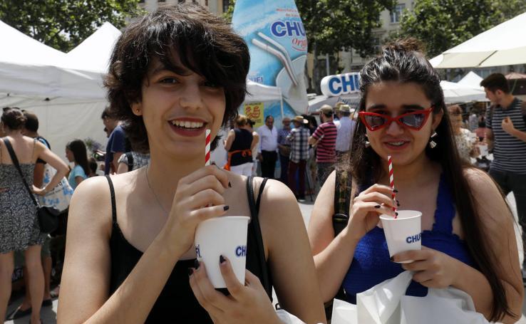 Día de la horchata y la chufa en Valencia 2019