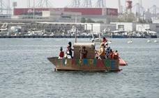 Barcos locos en La Marina de Valencia