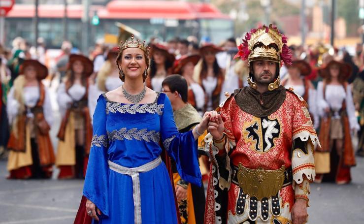 Los moros y cristianos toman Valencia