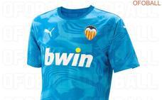 Desvelan la tercera equipación del Valencia