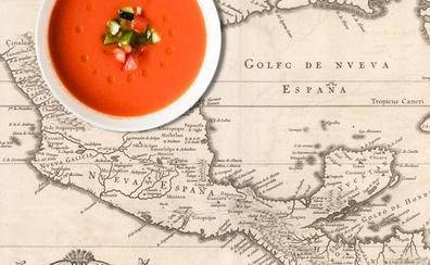 Gazpacho novohispano y barroco