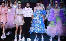 El diseñador alicantino Domingo Rodríguez gana el Mercedes-Benz Fashion Talent con su firma Dominnico