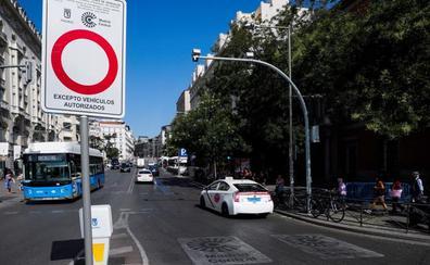Las multas en Madrid Central vuelven este lunes