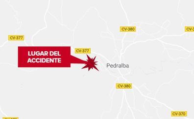 Un motorista fallece en Pedralba tras un accidente