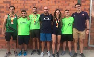 Escolano se convierte en el triunfador del Nacional con 4 medallas de sus atletas
