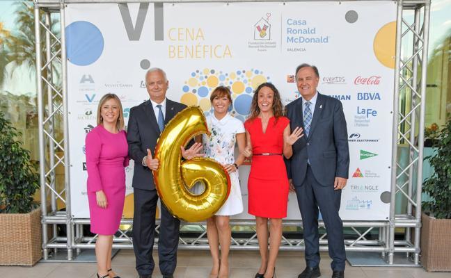 VI Cena Benéfica de la Casa Ronald McDonald de Valencia