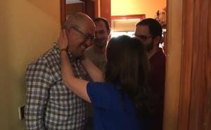 El emotivo reencuentro de 'Los Lobos' con sus familiares tras ganar el bote de '¡Boom!'