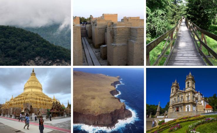 Las nuevas maravillas naturales y culturales de la Unesco