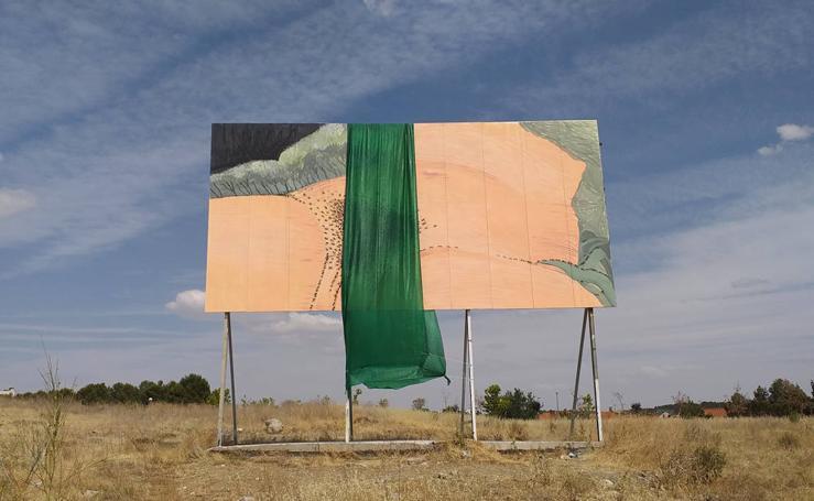 La obra del artista valenciano Sam3 que ha provocado las quejas de un colegio en Madrid