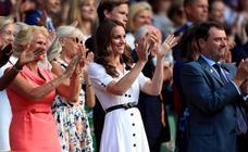 Famosos e invitados de lujo en Wimbledon