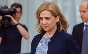 Reaparece la Infanta Cristina