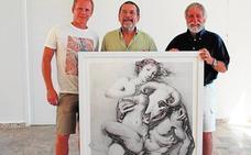 Joan Castejón «redibuja» su última exposición gráfica