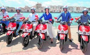 Gandia apuesta por las motos eléctricas para impulsar el turismo sostenible
