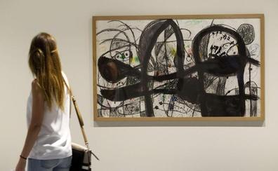 Obras del Pompidou de París, en Valencia