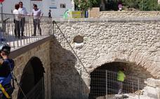 Obras en el Pont Vell de Ontinyent