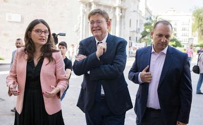 Oltra dice que no hay «conflicto de intereses» entre el Consell y las acciones de Ximo Puig