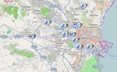 Tres atascos en los accesos a Valencia a dos días de la Operación Salida