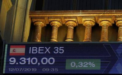El Ibex 35 se queda al borde los 9.300 puntos, a la espera de los resultados empresariales