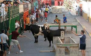 Agenda de bous al carrer del 12 y 13 de julio en Valencia, Alicante y Castellón