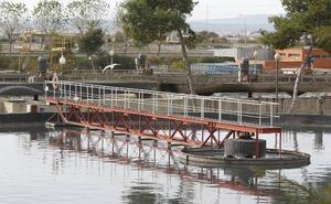 El TSJ descarta cerrar la depuradora de Pinedo para evitar daños ambientales
