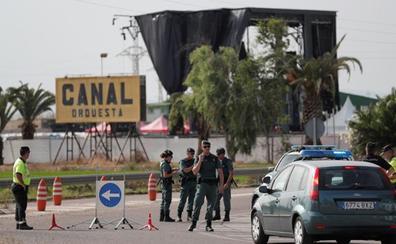 El Festival Marenostrum se cancela, la Guardia Civil desaloja y la empresa devuelve el dinero