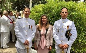 Una valenciana, primera mujer en ser número uno de la promoción de sargentos de la Armada